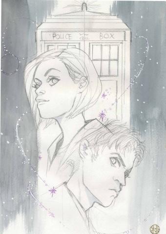 Doctor Who Comics #2 (Peach Momoko Sketch Cover)