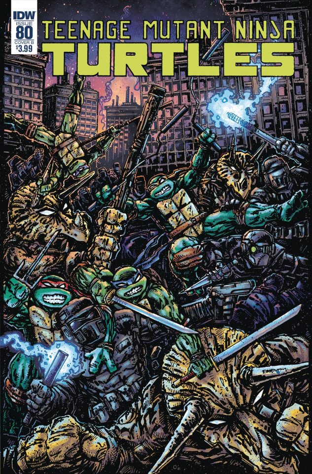 Teenage Mutant Ninja Turtles #80 (Eastman Cover)