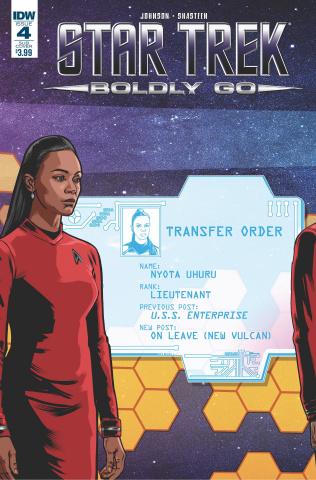 Star Trek: Boldly Go #4 (Subscription Cover)
