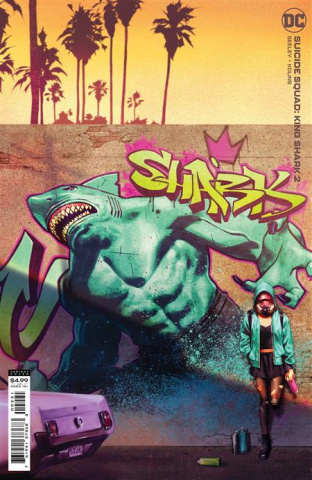 Suicide Squad: King Shark #2 (Jorge Molina Card Stock Cover)