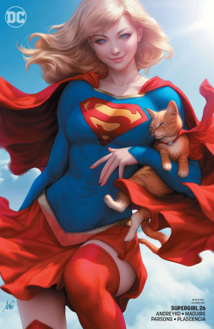 Supergirl #26 (Variant Cover)