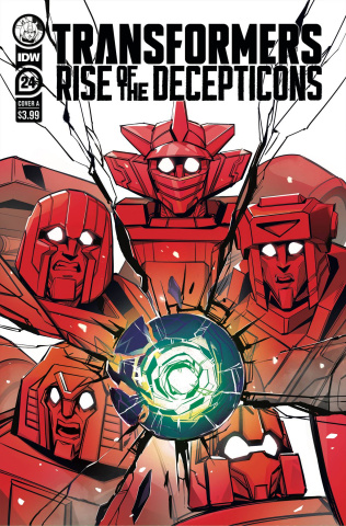 The Transformers #24 (McGuire-Smith Cover)