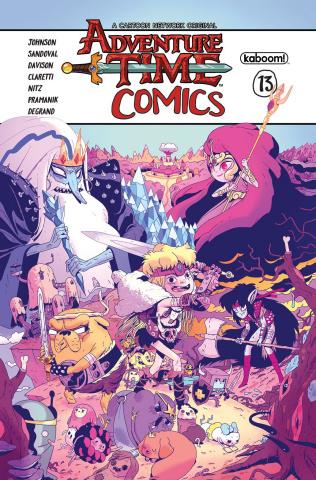 Adventure Time Comics #13 (Subscription Monlongo Cover)