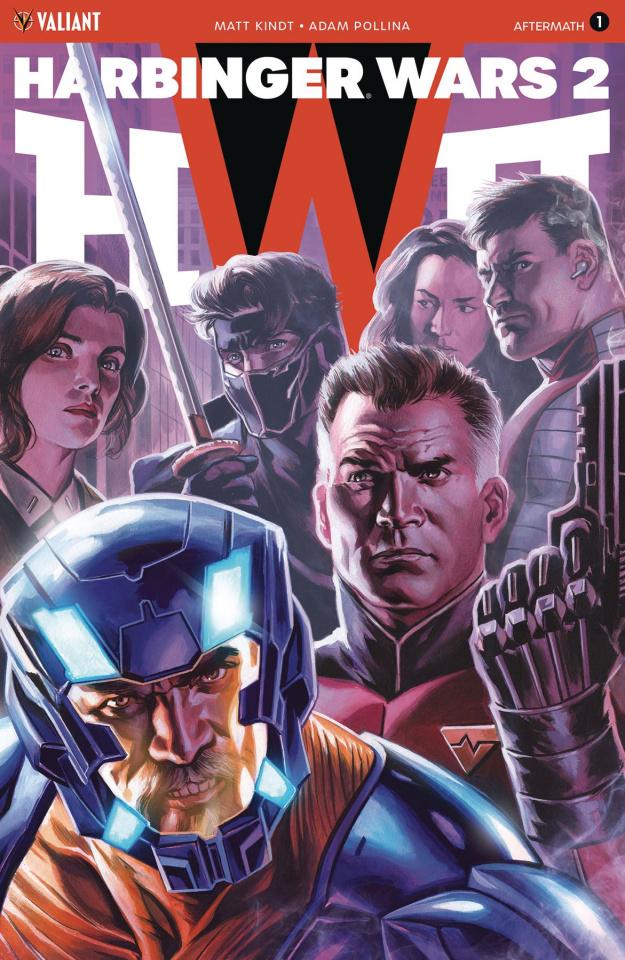Harbinger Wars 2: Aftermath #1 (20 Copy Icon Massafera Cover)