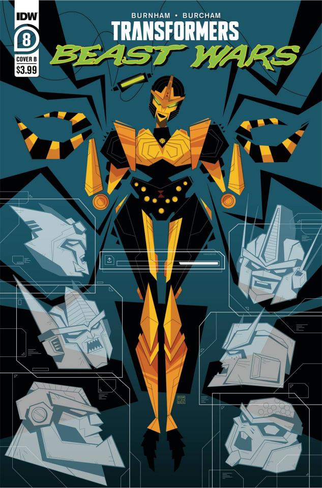 Transformers: Beast Wars #8 (Gee Cover)