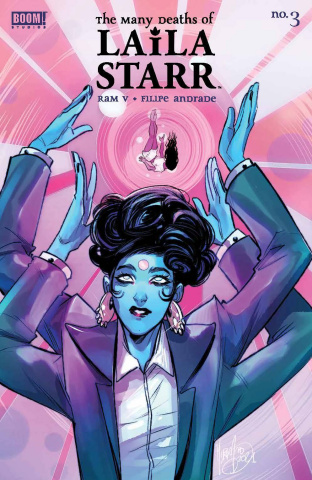 The Many Deaths of Laila Starr #3 (25 Copy Andofo Cover)