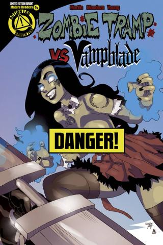 Zombie Tramp vs. Vampblade #1 (Zombie Tramp Risque Cover)