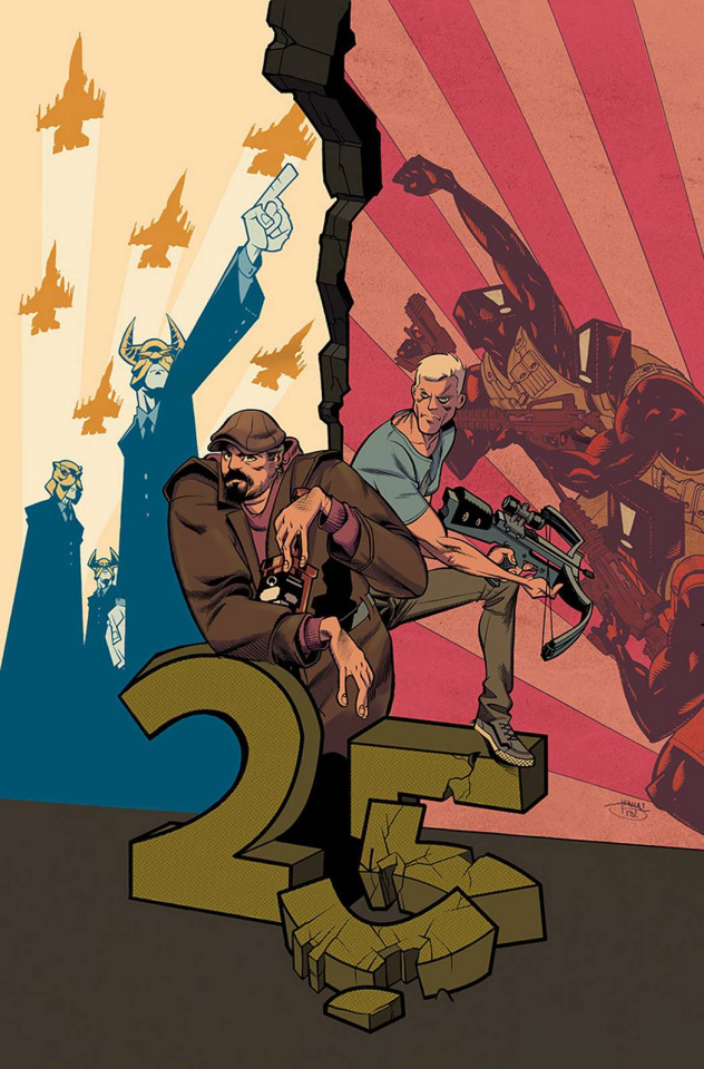 Archer & Armstrong #25 (Crystal Cover)