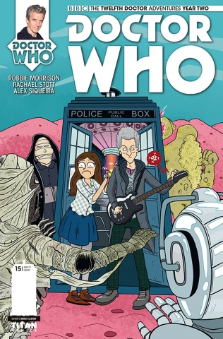 Doctor Who: New Adventures with the Twelfth Doctor, Year Two #15 (Ellerby Cover)