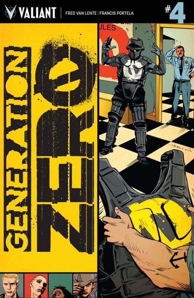 Generation Zero #4 (Mooney Cover)