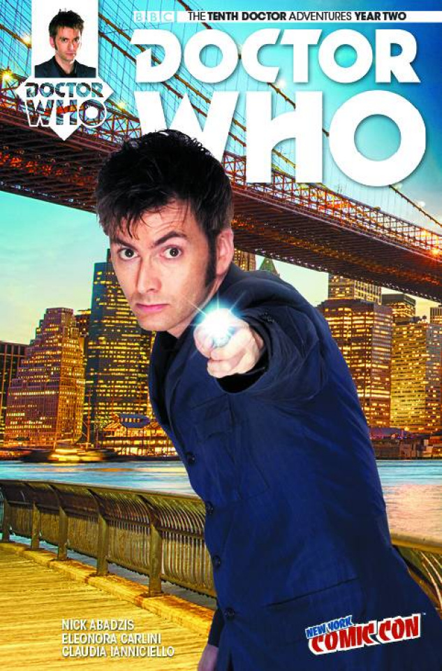 Doctor Who: New Adventures with the Tenth Doctor, Year Two #2 (NYCC Cover)