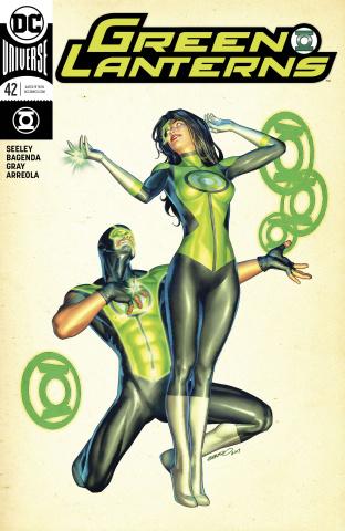 Green Lanterns #42 (Variant Cover)
