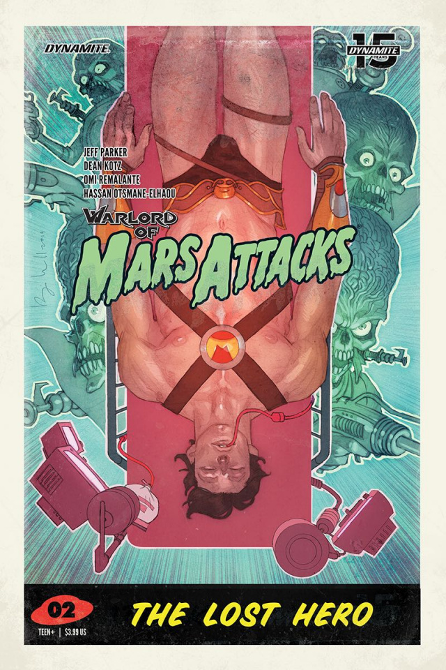 Warlord of Mars Attacks #2 (Caldwell Cover)