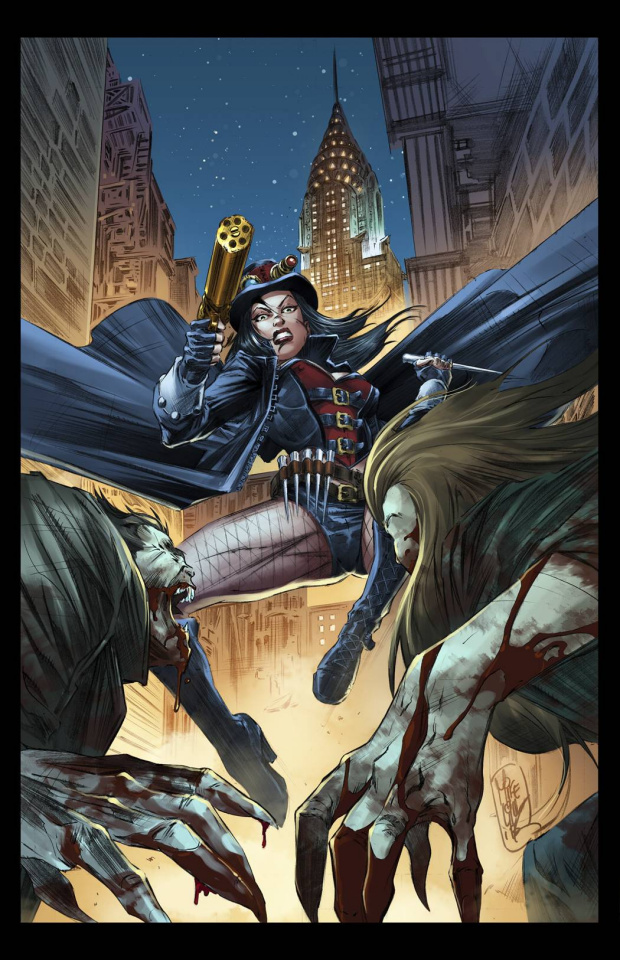 Grimm Fairy Tales: Van Helsing #1 (Lilly Cover)