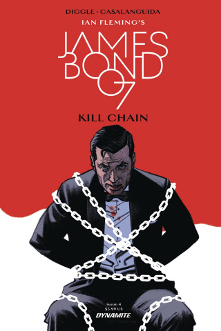 James Bond: Kill Chain #4 (Smallwood Cover)