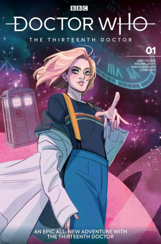Doctor Who: The Thirteenth Doctor #1 (Tarr Cover)