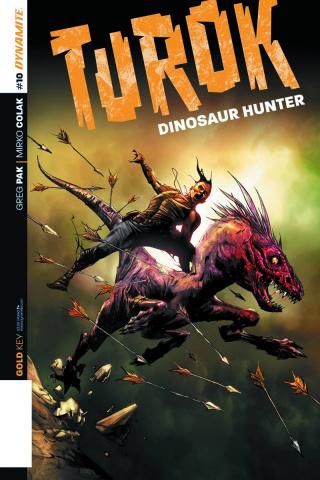 Turok: Dinosaur Hunter #10 (Lee Subscription Cover)