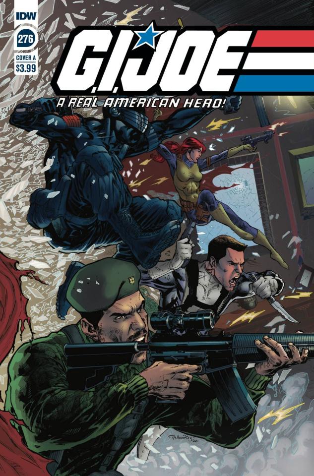 G.I. Joe: A Real American Hero #276 (Diaz Cover)