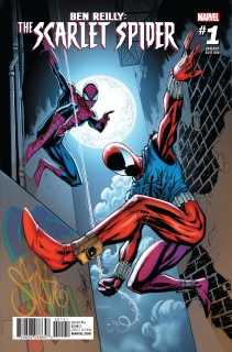 Ben Reilly: The Scarlet Spider #1 (J.S. Campbell Cover)