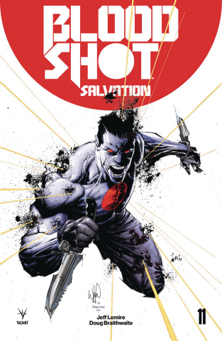 Bloodshot: Salvation #11 (20 Copy Portacio Cover)