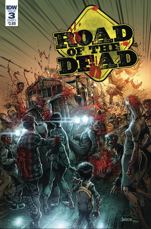 Road of the Dead: Highway to Hell #3 (Santiperez Cover)
