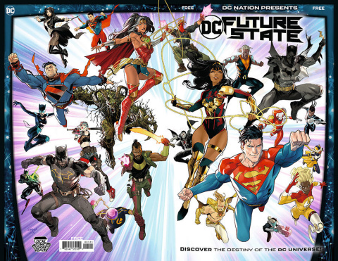 DC Nation Presents DC Future State (LCSD Cover)