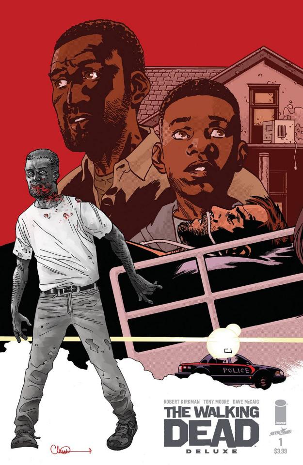 The Walking Dead Deluxe #1 (Adlard Cover)