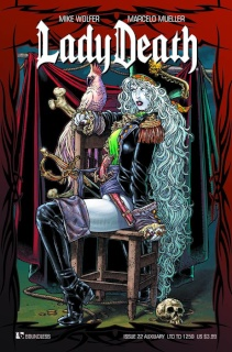 Lady Death #22 (Auxiliary Cover)