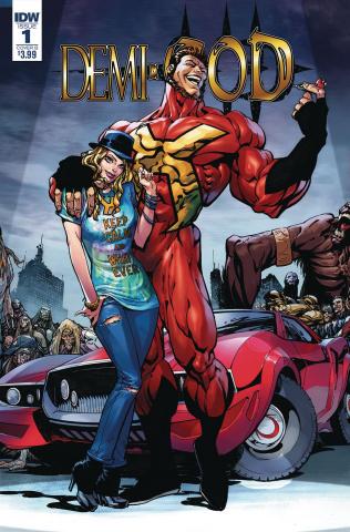 Demi-God #1 (Sears Cover)