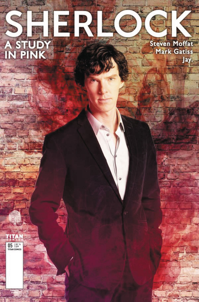 Sherlock: A Study in Pink #5 (Photo Cover)