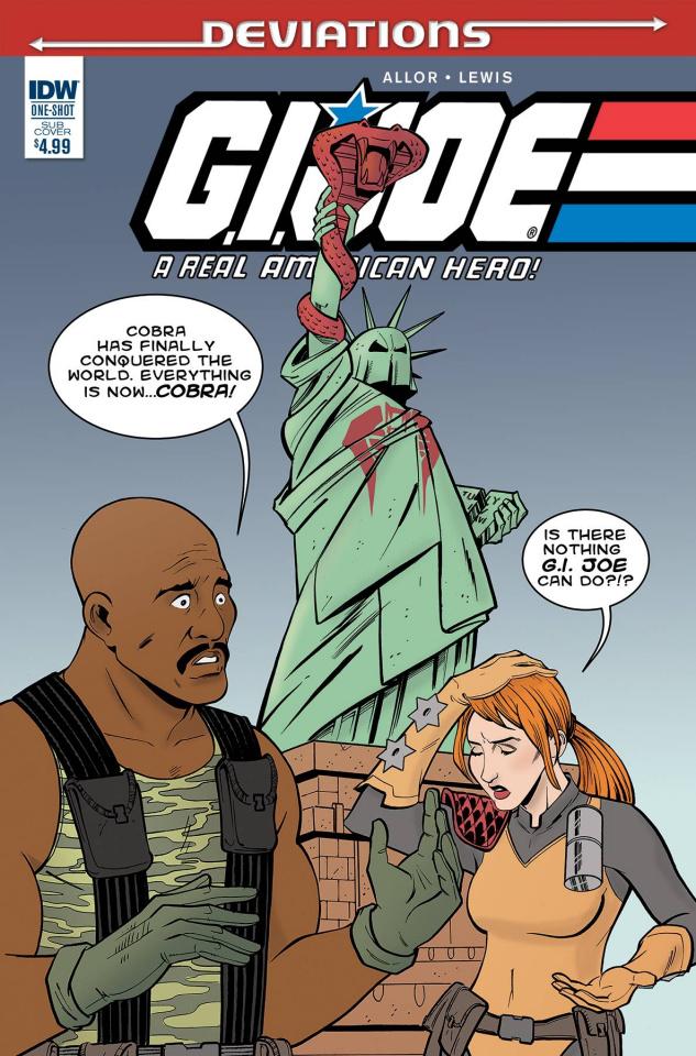 G.I. Joe: Deviations (Subscription Cover)
