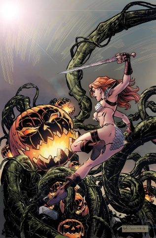 Red Sonja Halloween Special (Metal Cover)