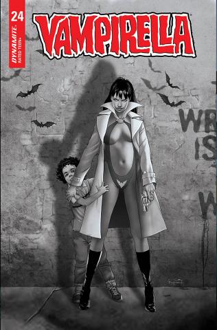Vampirella #24 (20 Copy Gunduz B&W Cover)