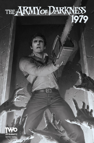 The Army of Darkness: 1979 #2 (20 Copy Yoon B&W Cover)