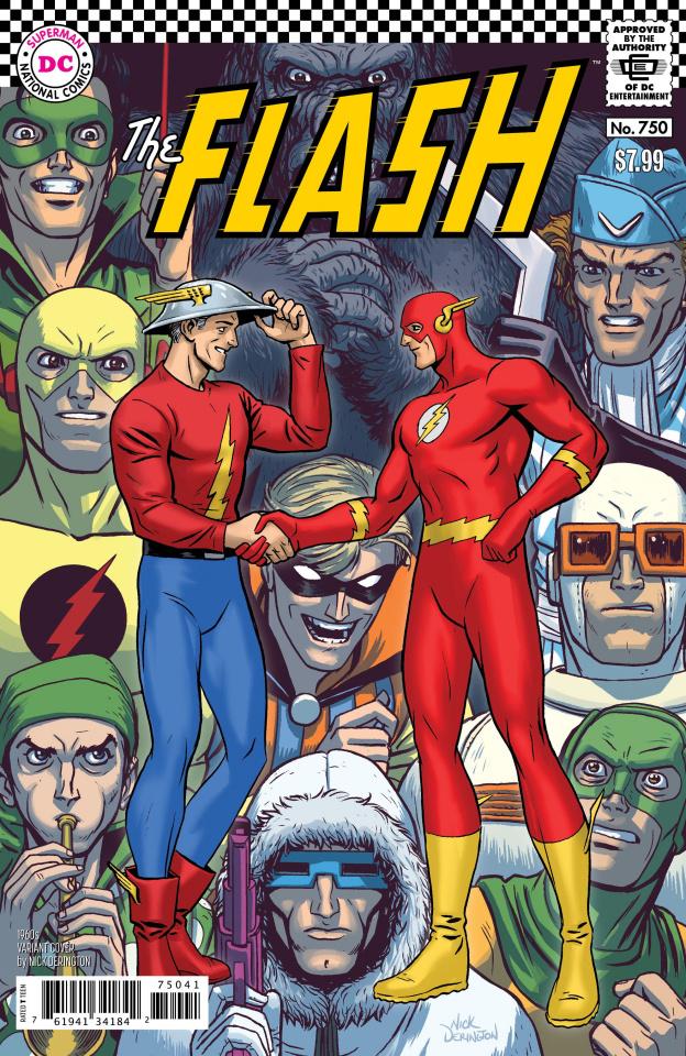 The Flash #750 (1960s Nick Derington Cover)