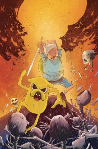 Adventure Time Comics #22 (10 Copy Henderson Cover)