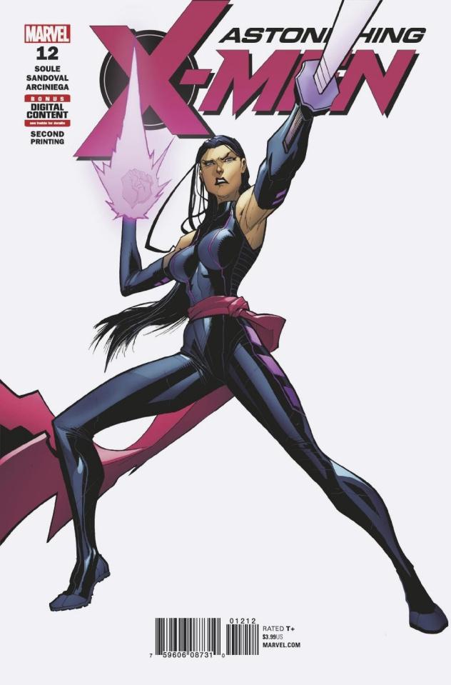 Astonishing X-Men #12 (Sandoval 2nd Printing)
