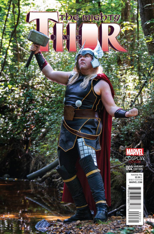The Mighty Thor #2 (Cosplay Cover)