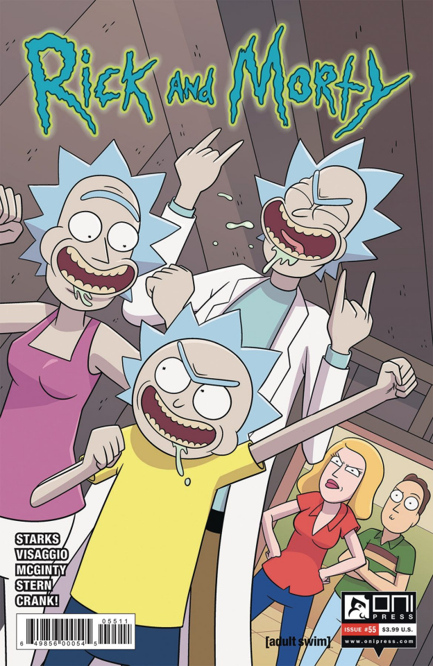 Rick and Morty #55 (Ellerby Cover)