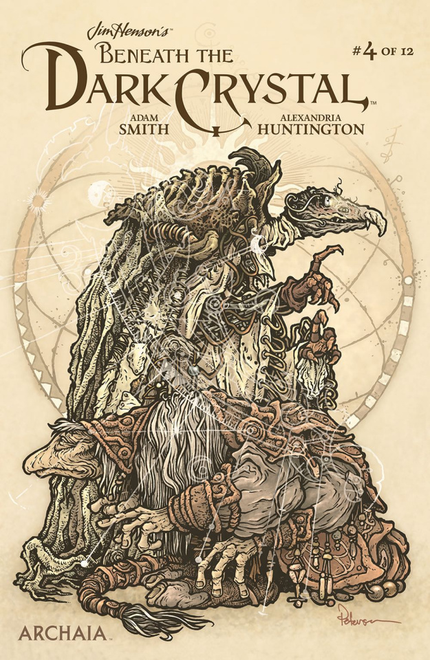 Beneath the Dark Crystal #4 (Petersen Cover)