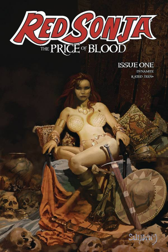 Red Sonja: The Price of Blood #1 (Suydam Cover)