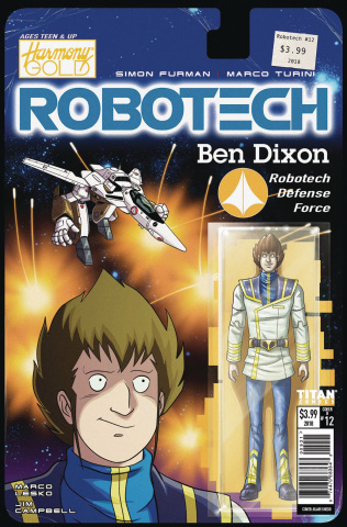 Robotech #12 (Action Figure Cover)