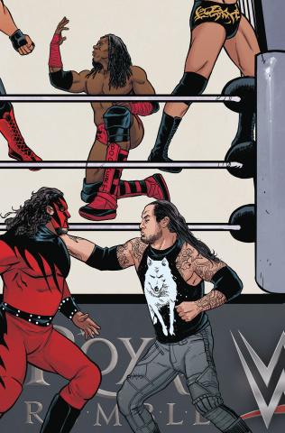 WWE #12 (Unlockable Royal Rumble Cover)