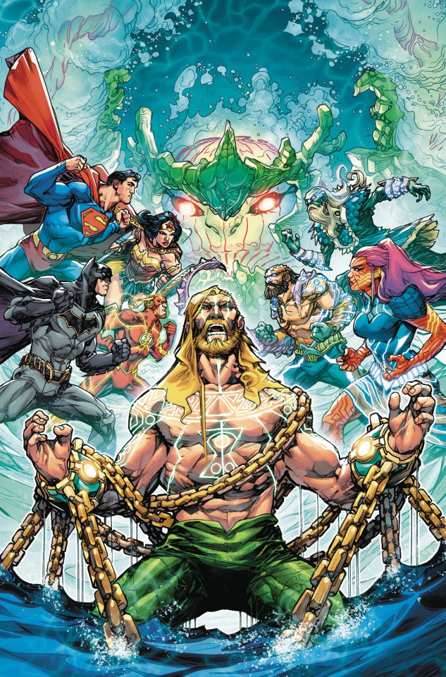 Justice League / Aquaman: Drowned Earth #1