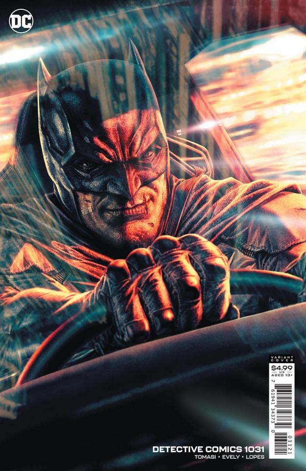Detective Comics #1031 (Lee Bermejo Card Stock Cover)
