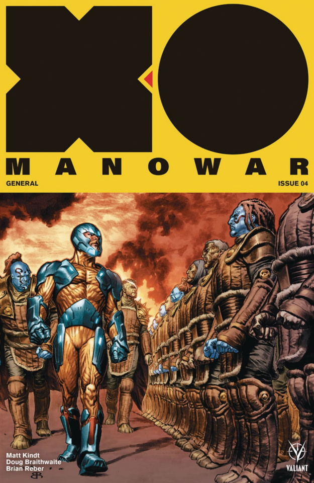 X-O Manowar #4 (Larosa Cover)