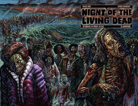 Night of the Living Dead: Aftermath #6 (Wrap Cover)