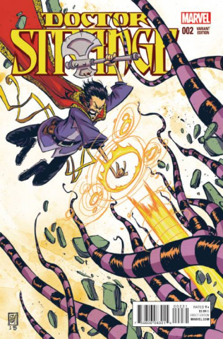 Doctor Strange #2 (Young Cover)
