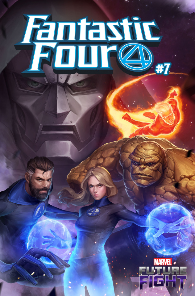 Fantastic Four #7 (Yongho Cho Mystery Cover)