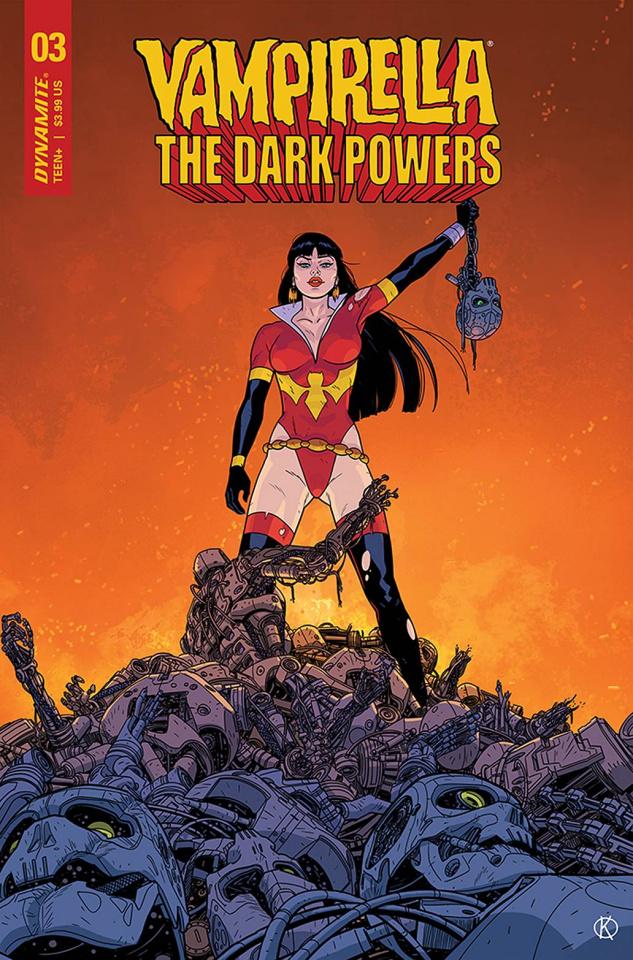 Vampirella: The Dark Powers #3 (15 Copy Kano Cover)